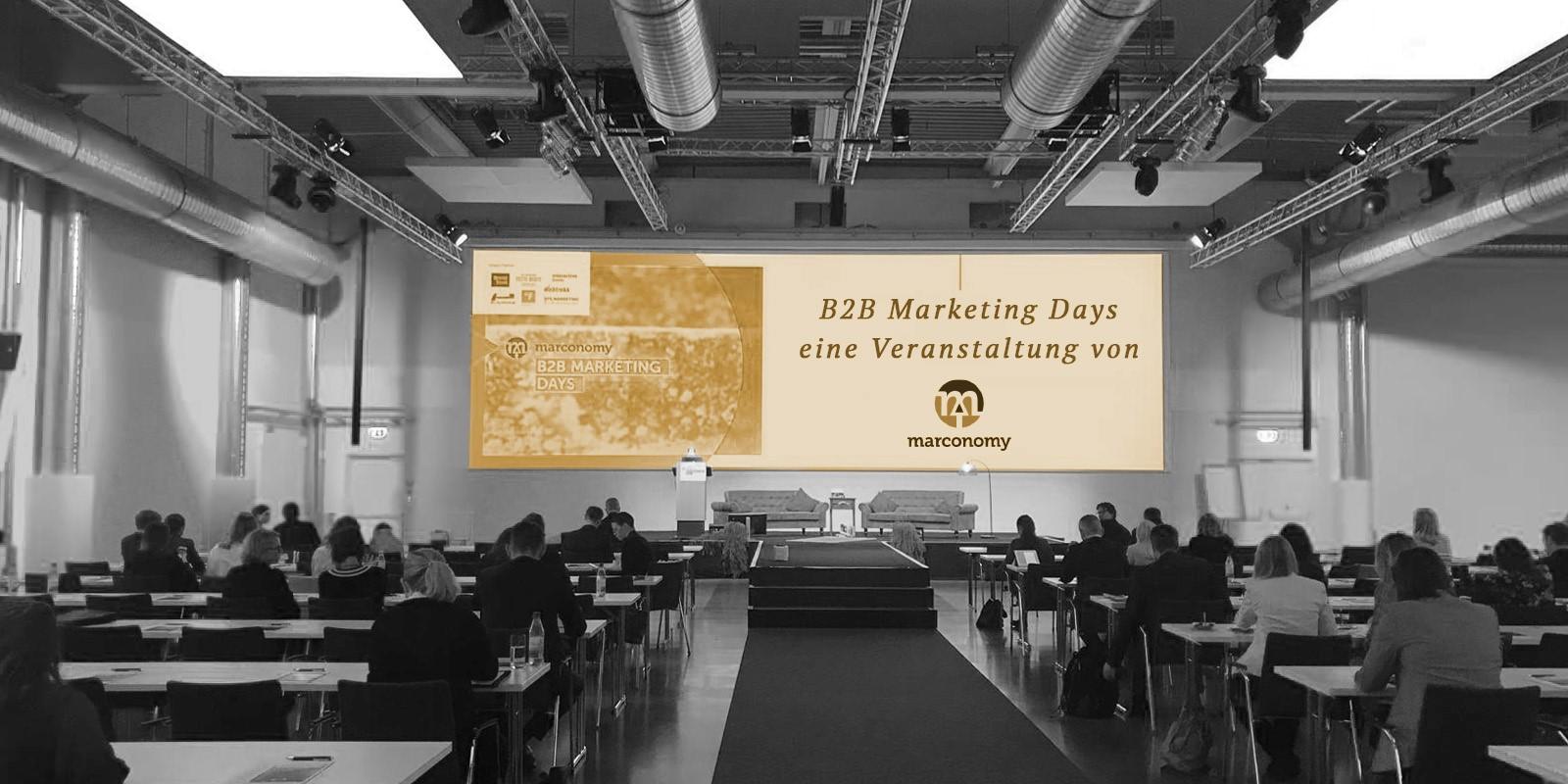 Wenn B2B die Welt rettet. Ein Rückblick auf die marconomy B2B Marketing Days 2018