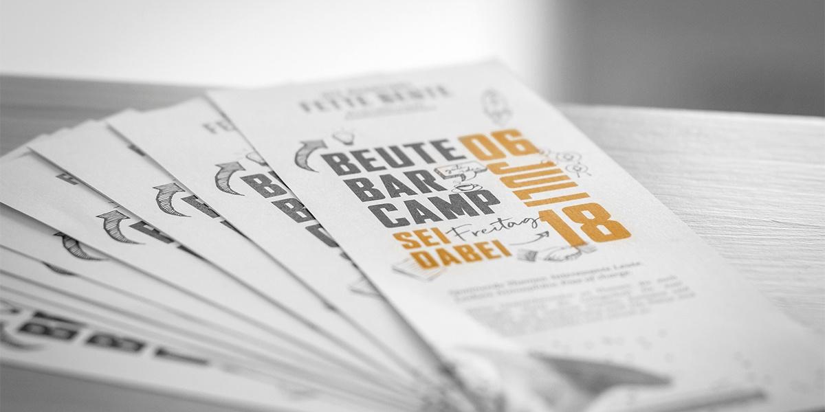 BarCamp-Premiere: Zwangloses Netzwerken beim #beutecamp18 im Sauerland