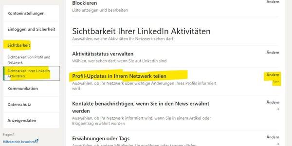 linkedin-einstellungen-updates